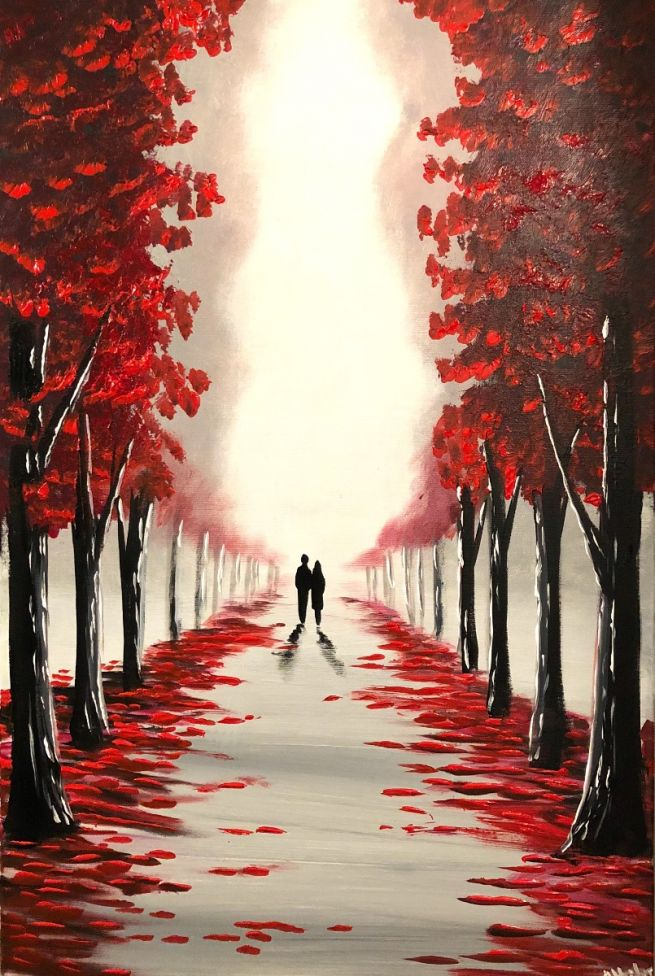 Through The Red Trees 4