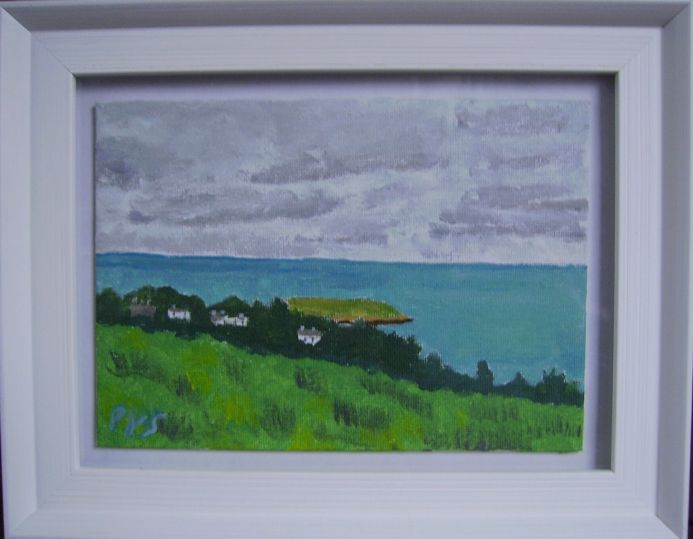 Six miniature paintings of Ireland.No.1