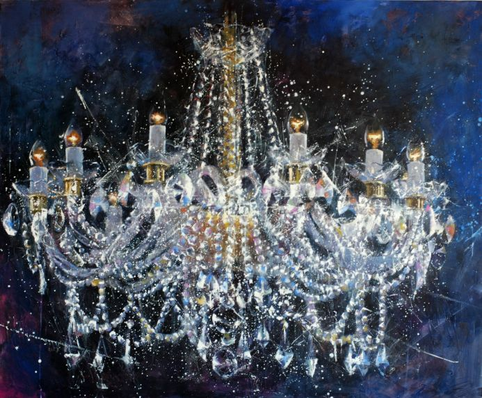 Chandelier number 6. Christmas.