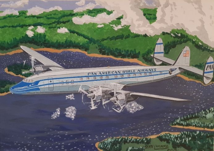 1954 Pan Am Lockheed Constellation