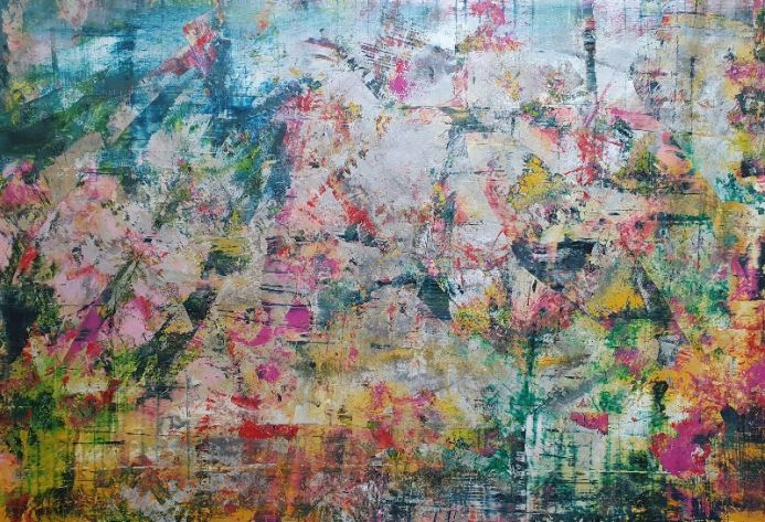 Summer of '21 - XXL abstract painting