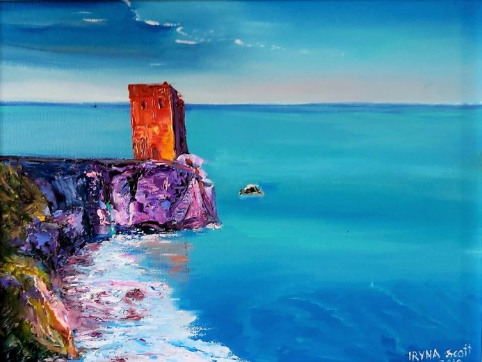 THE WATCHTOWER IN THE SEA