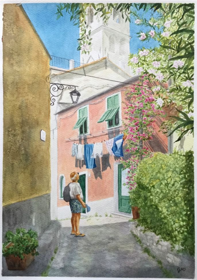 SIGHTSEEING IN CERVO