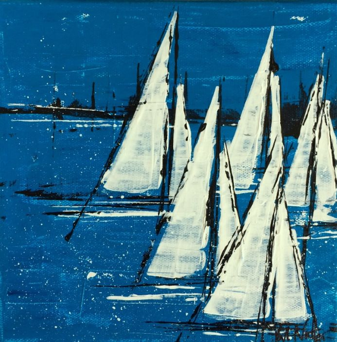 Sailcloth 8x8 (RESERVED)