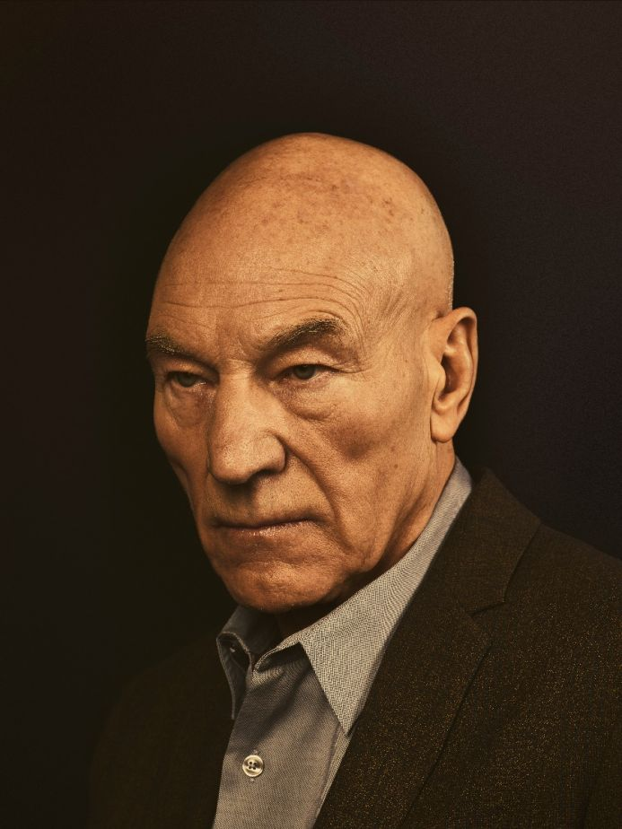 Sir Patrick Stewart Caravaggio Style Portrait Limited Edition Print