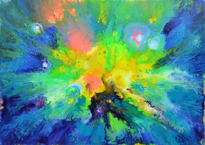 Perfect Harmony XXXII - 70x50 cm - XL Painting - Abstract Painting - Ready to Hang, Hotel Wall Decor, Perfect Gift