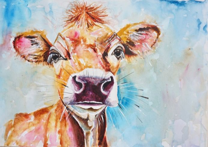 Jersey Cow 'Proud'