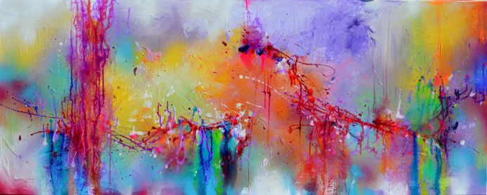 Fresh Moods 23, Large Abstract Painting