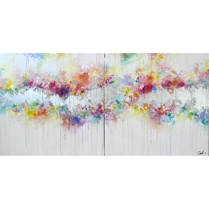 Above and beyond -  Extra large abstract painting XXL