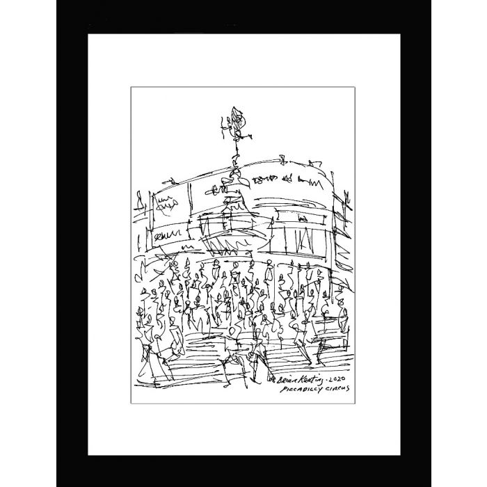 Piccadilly Circus London (framed)