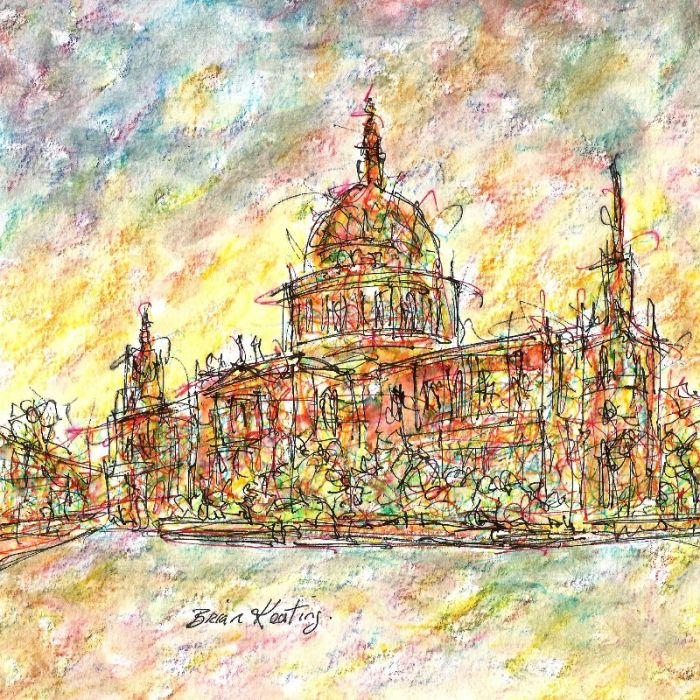 """""""St. Paul's Cathedral"""" Ludgate Hill London"""