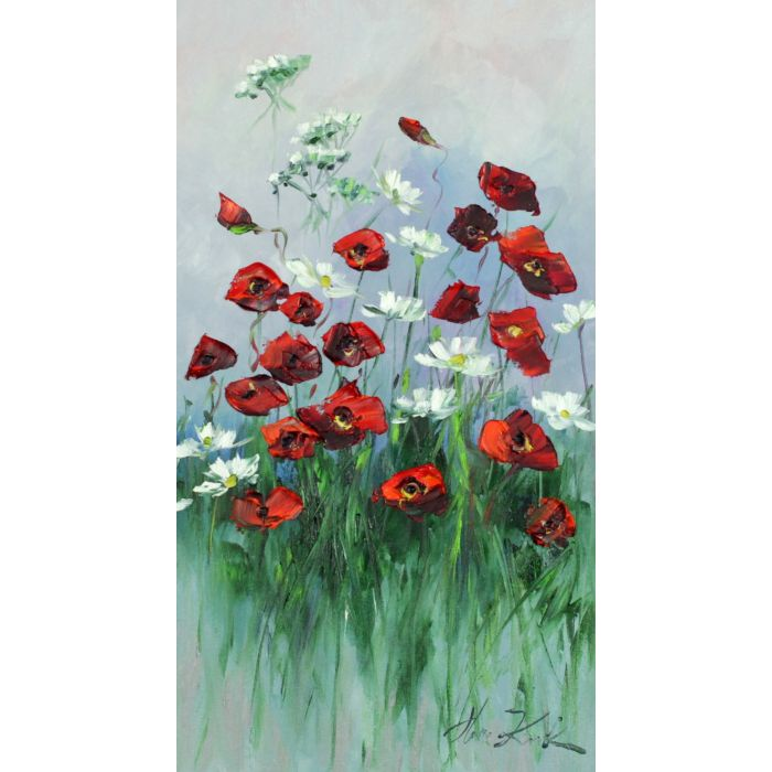 Poppies and chamomiles I