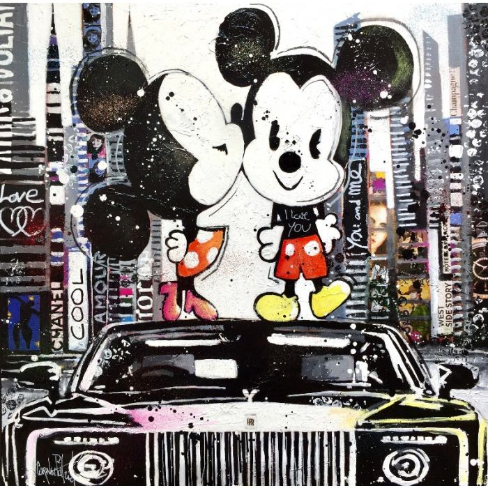Mickey is in love in New York