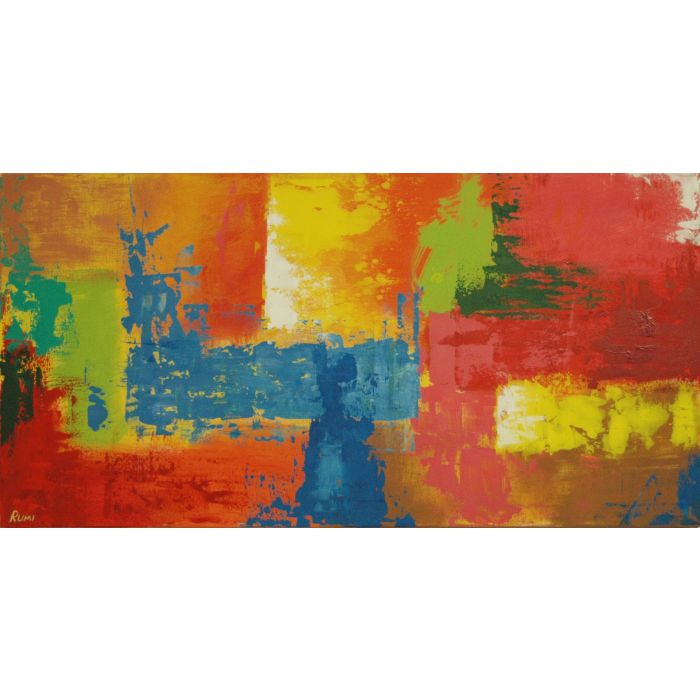 """Joy Of Life"". Original abstract painting."