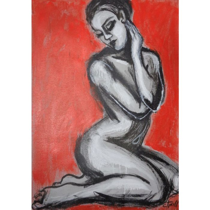 Posture 1 - Female Nude