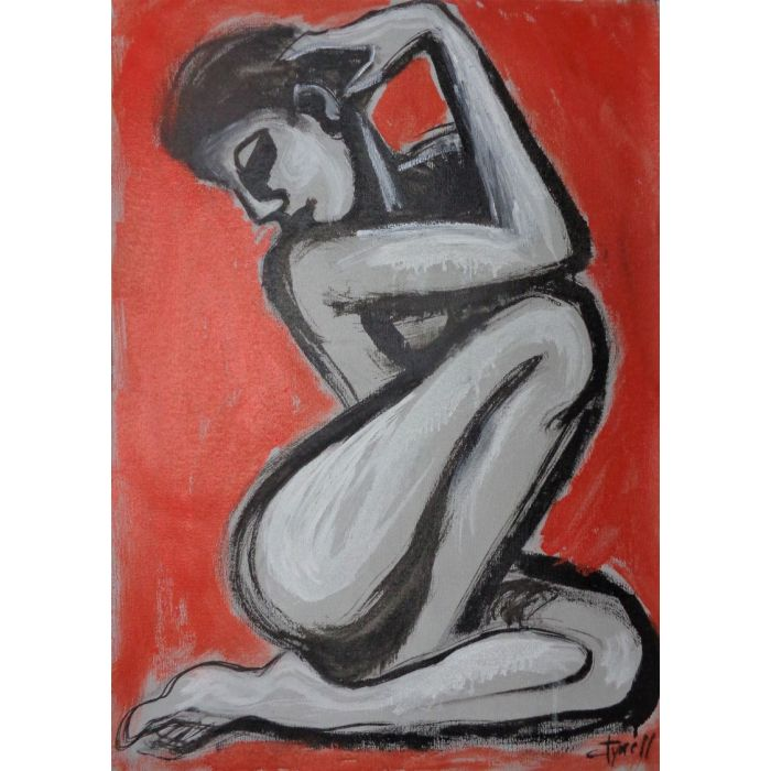 Posture 2 - Female Nude