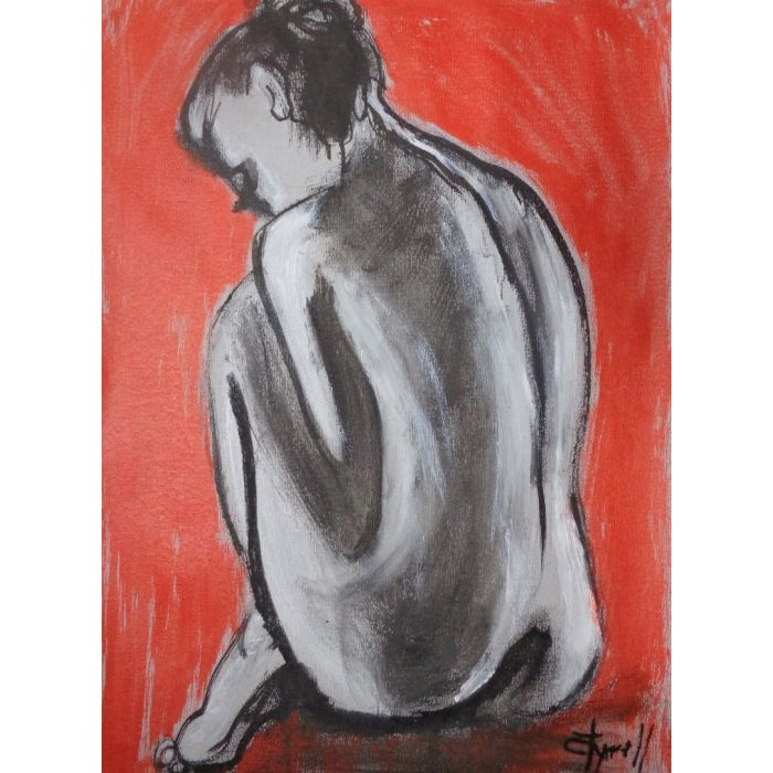 Posture 3 - Female Nude