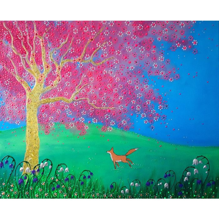 Fox and the Blossom Tree