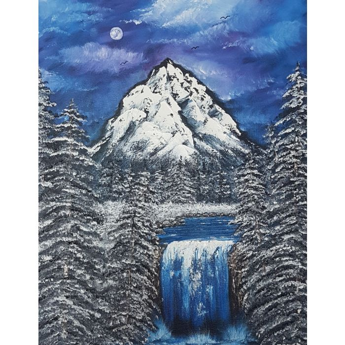 Powerful passion of nature blue