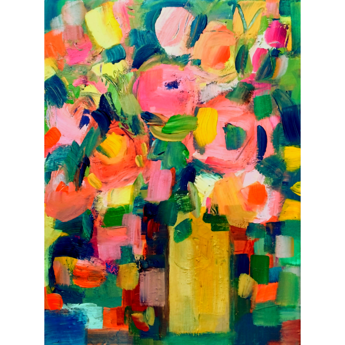 ABSTRACT FLORAL V