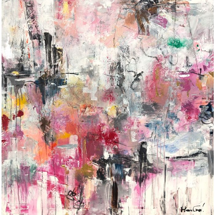 Inception - Oversized modern abstract paintings XXL art