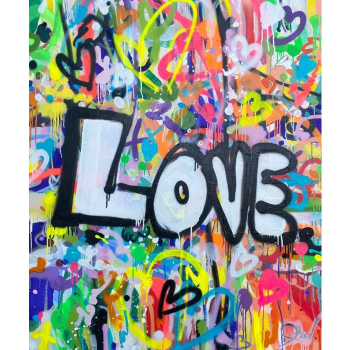 Give me all your love - XXL contemporary art