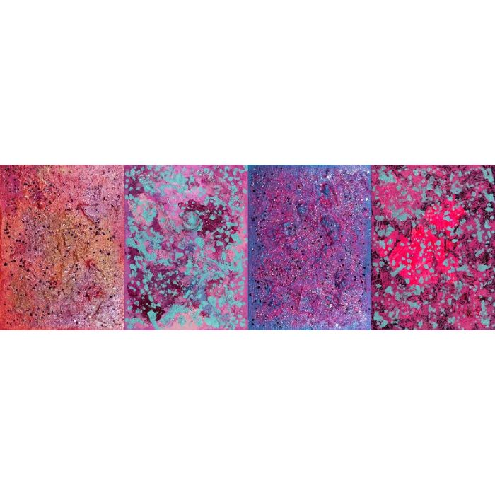 Pink Obsessed : TETRAPTYCH