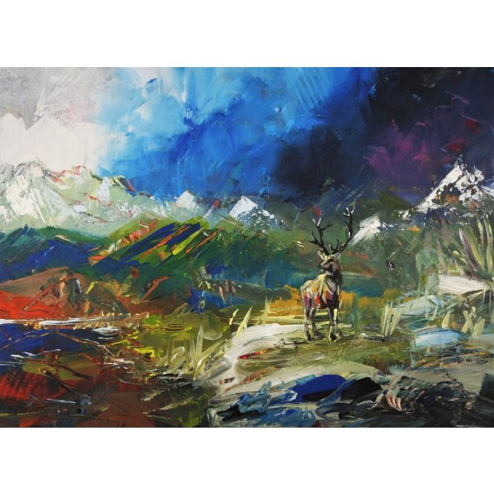 Abstract Landscape Stag 188