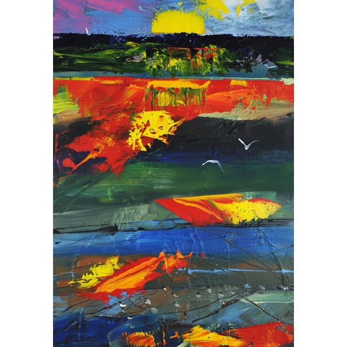 Abstract Landscape Sunset 317