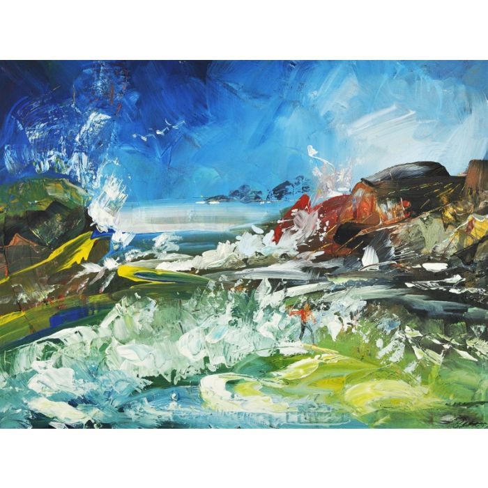 Abstract Landscape Surf 204