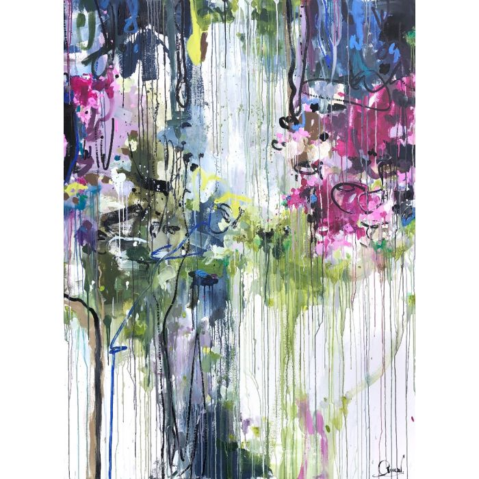 Wild wonders - Oversized abstract painting