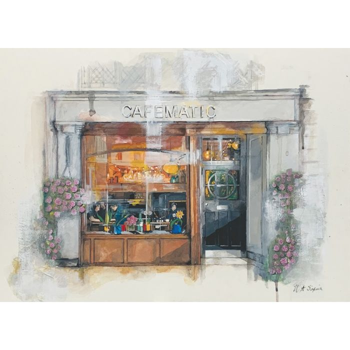 Cafematic Cafe Bar Limited Edition Print