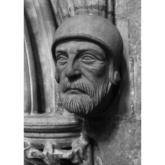 Litchfield Cathedral Stone Carving