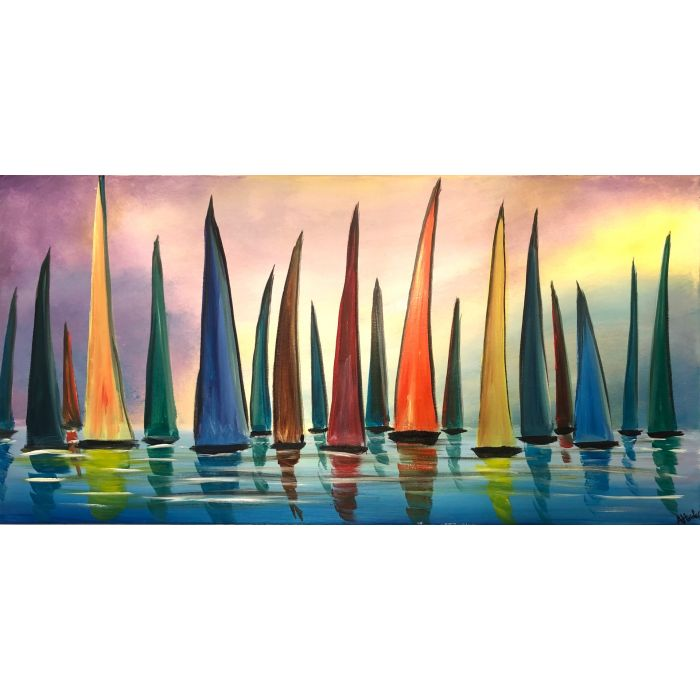 Colourful Regattas