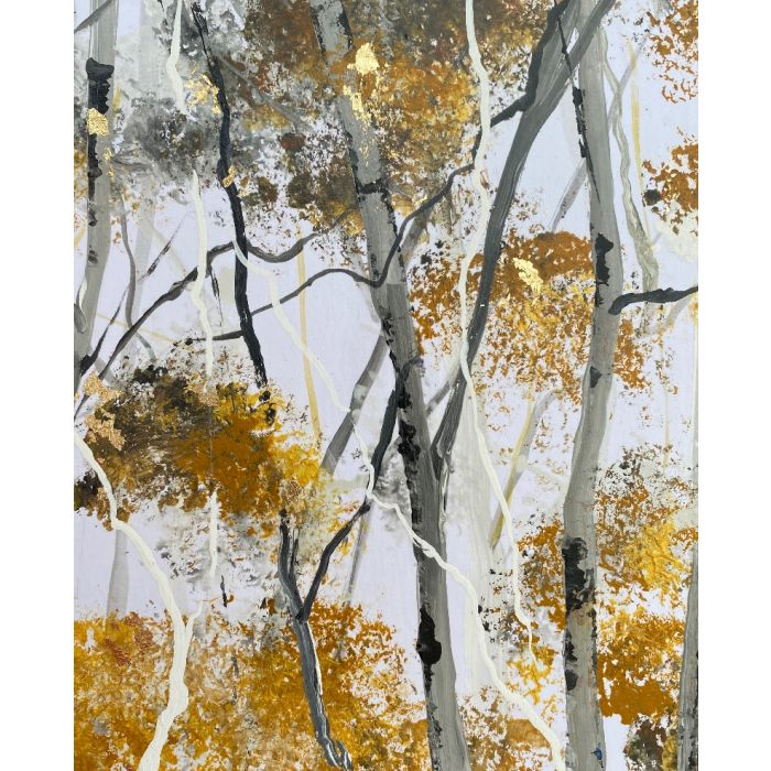 Dapple Light Silver Birches
