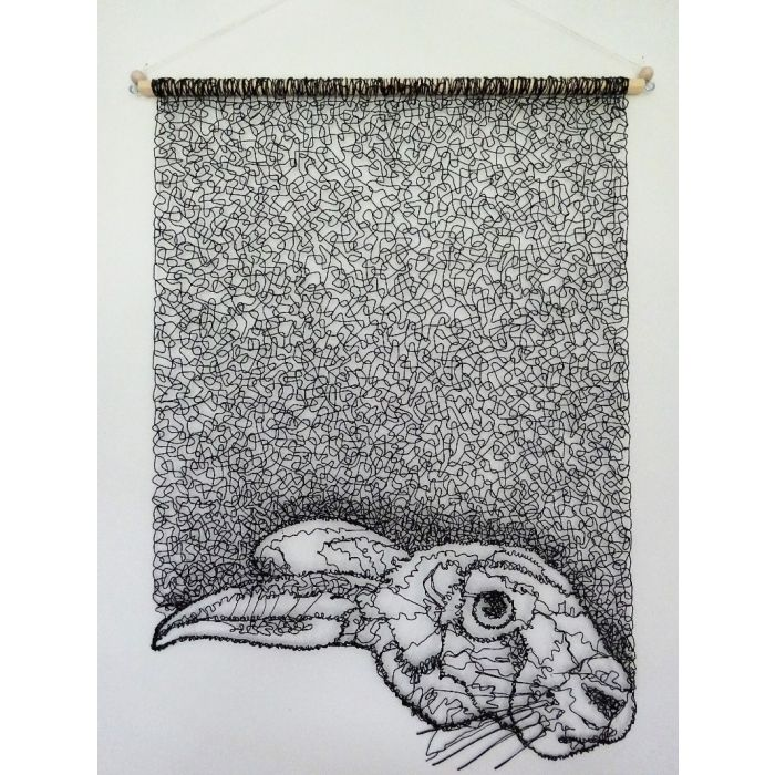 Hare's Head Wall Hanging 2