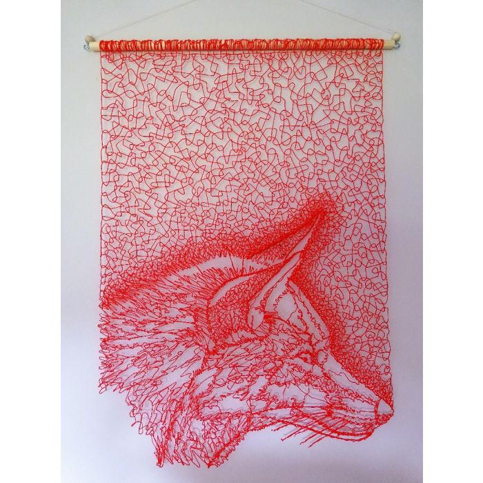 Red Fox Wall Hanging