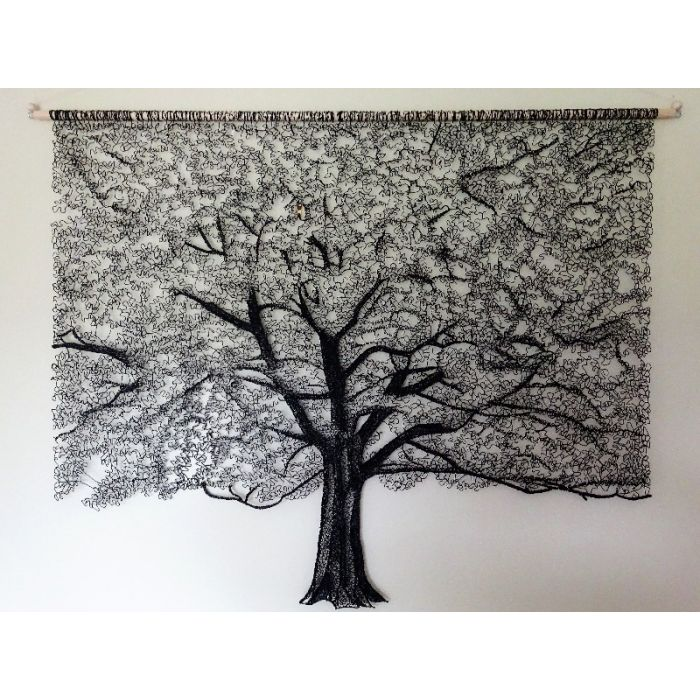Lace Tree Wall Hanging