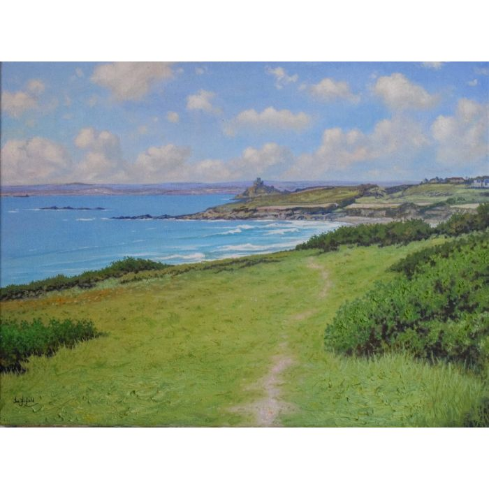 Looking towards St Michael's Mount, Cornwall