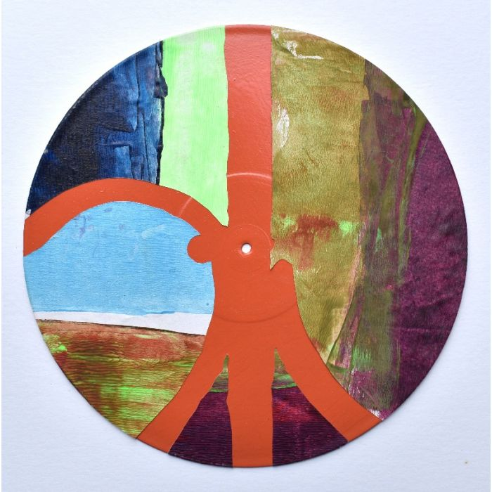 Bandstand - Vinyl Painting No 26