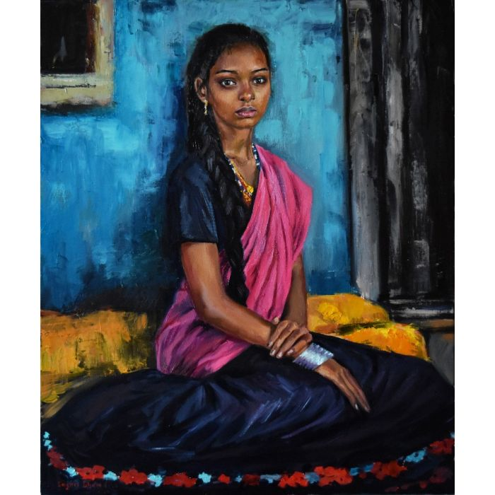 A girl from India