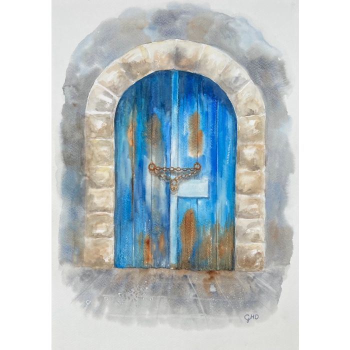 THE OLD BLUE DOOR