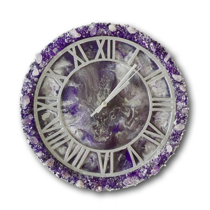 Intuition clock and coaster set