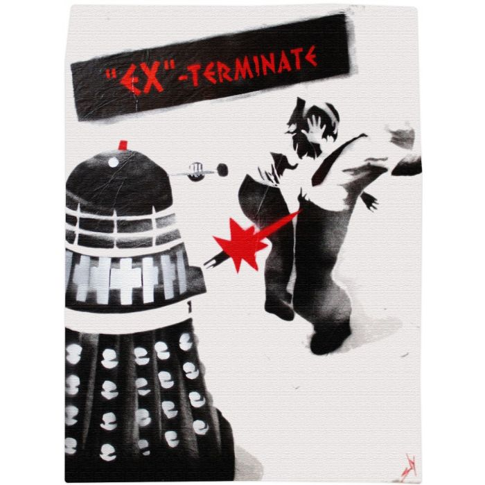 Ex-Terminate! (on gorgeous waterpaper)