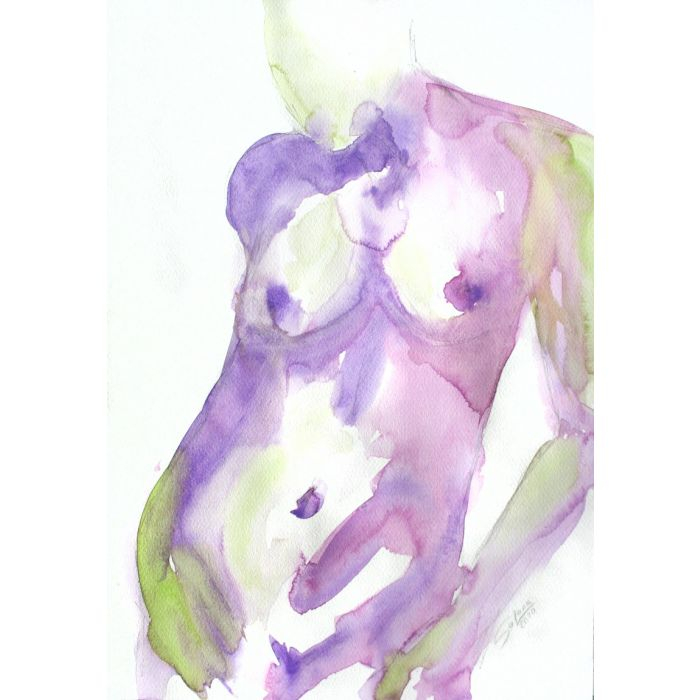 GRACE I. SERIES OF NUDE BODIES FILLED WITH THE SCENT OF COLOR