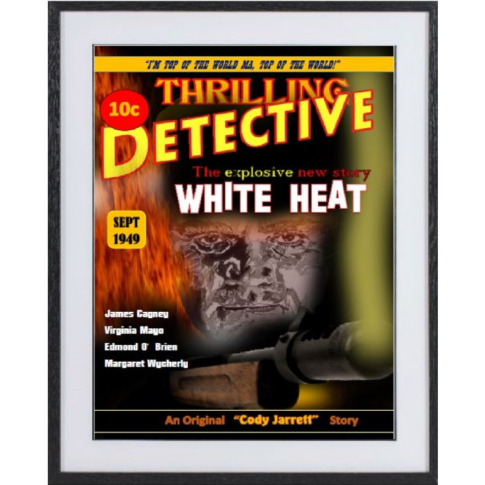 White Heat: large framed limited edition print