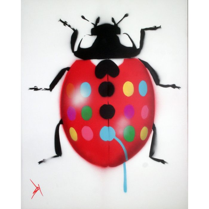 Get the Hirstbug (on canvas).