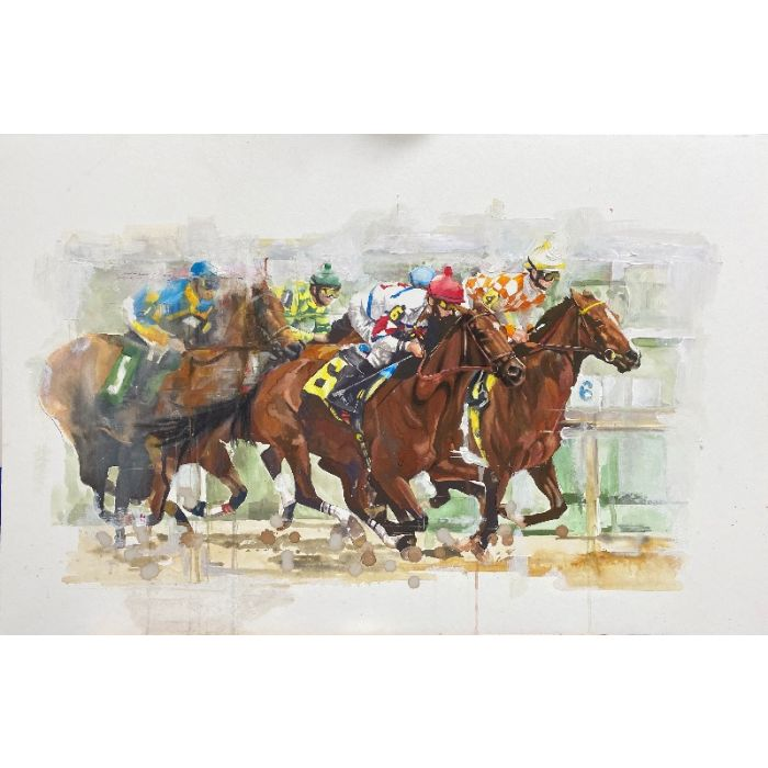 The Horse Race No. 6