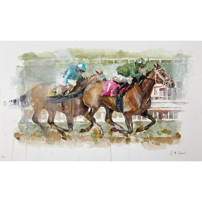 The Winning Horse Limited Edition Print