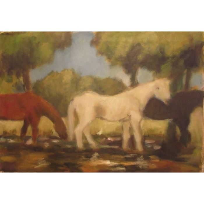 Horses by the Rother